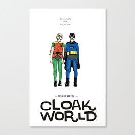 Cloak World Canvas Print