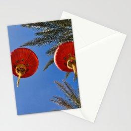 Chinese New Year Lanterns Las Vegas Stationery Cards