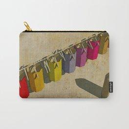 Pencil color dresses - Vestidos para lapices de colores Carry-All Pouch