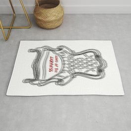 Funny Illustration For Lazzy Friends Rug