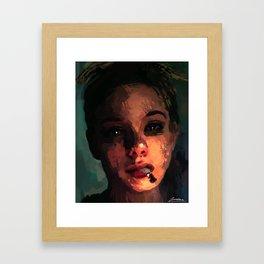 Gloomy Days Framed Art Print