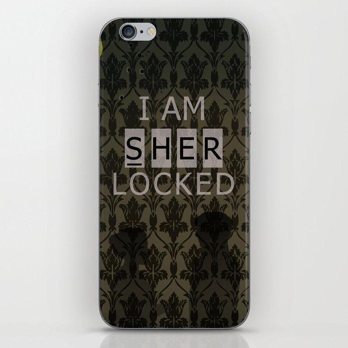 Sherlocked iPhone Skin