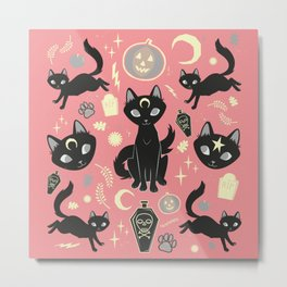 Witch Babies Metal Print