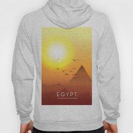 Vintage Egypt travel poster, Hoody