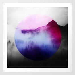 Round Ambiance Art Print