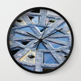 Circle Abstract Art Wall Clock
