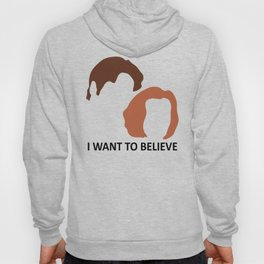 I Want To Believe X-Files Hoody
