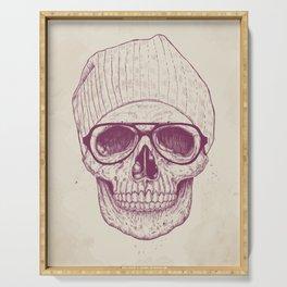 Cool skull Serving Tray