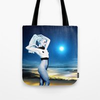 celestial Tote Bags featuring Celestial by Danielle Tanimura