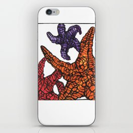 Sea Stars  iPhone Skin