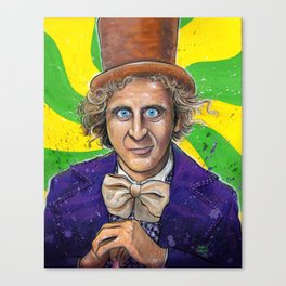 WILLY WONKA! Canvas Print