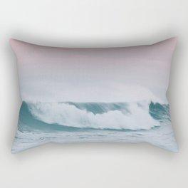 Pale ocean Rectangular Pillow