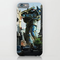 Mech behind a back alley Slim Case iPhone 6s