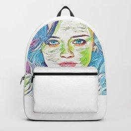 Alexis Bledel (Creative Illustration Art) Backpack