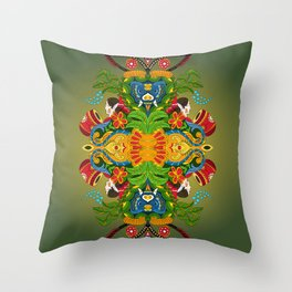 Inner explosion-II Throw Pillow