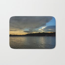 Evening with the Ganges... Bath Mat