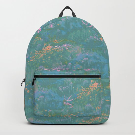 Blue Life in Death Valley Backpack