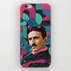 Nicola Tesla iPhone & iPod Skin
