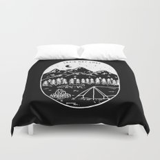 Let's Get Lost III Duvet Cover
