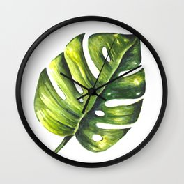Tropical Summer Pattern Wall Clock