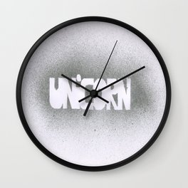 UNICORN.  Wall Clock