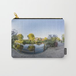 360 degree panorama on the riverside path beside the Wensum, Norwich Carry-All Pouch