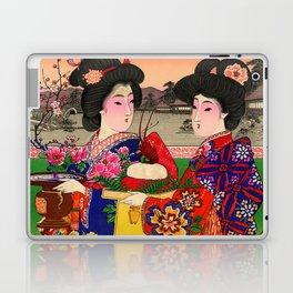 Two Geishas Laptop & iPad Skin