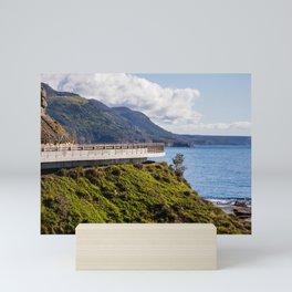 Sea Cliff Bridge. Sydney. Australia. Mini Art Print