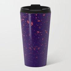 Trail Status / Purple Metal Travel Mug