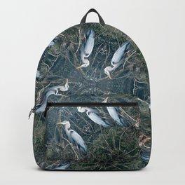 Riverside Great Blue Heron Backpack