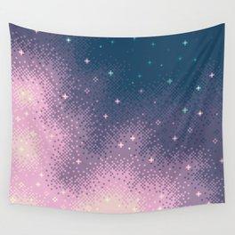 Lilac Nebula (8bit) Wall Tapestry