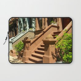 New York Manhattan Upper West Side Townhomes Laptop Sleeve