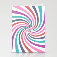carnival Stationery Cards featuring Carnival by The Nostalgic Whim