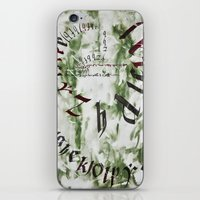 typo iPhone & iPod Skins featuring typo by Ferdane Aydın