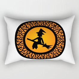 The Witch's Shadow Rectangular Pillow