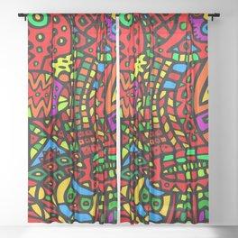 Abstract #411 Sheer Curtain