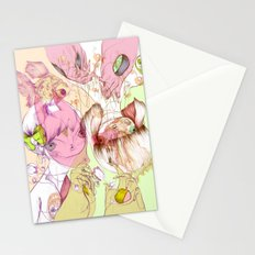 These Were Our Dialogs Of Sweet Surrender Stationery Cards