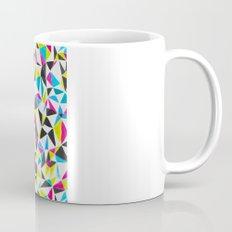 watercolor geometry CMYK Mug