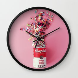 Polly Pocket Campbell's soup Wall Clock