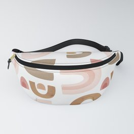Terracotta Shapes Fanny Pack