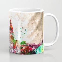 United States Capitol Grunge Coffee Mug