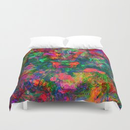 Yawn (Agitated Yell) Duvet Cover