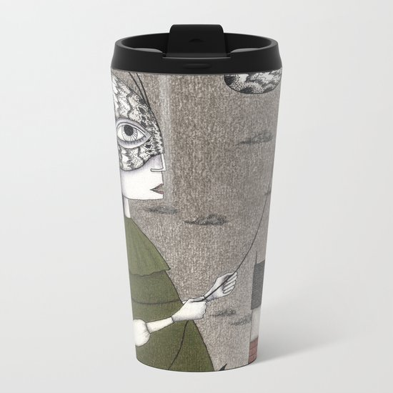 Oda (An All Hallows' Eve Tale) Metal Travel Mug