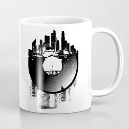 Urban Vinyl of Underground Music Coffee Mug