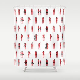Love everyday(big) Shower Curtain