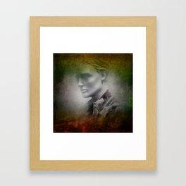 in the shop window -e- Framed Art Print