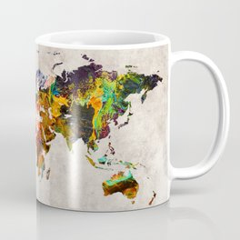 World Map 54 Coffee Mug