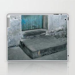 What's behind the old blue door? Laptop & iPad Skin