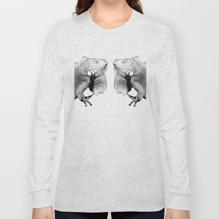 Iguanas (animals) Long Sleeve T-shirt