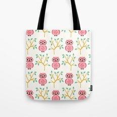 Owl Grove Tote Bag